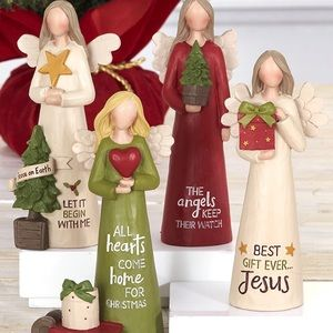 NWT! Home Decor | Willowy Christmas Angels